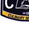 Submarine Administration Rating Culinary Specialist Patch | Lower Left Quadrant