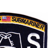 Submarine Administration Rating Culinary Specialist Patch | Upper Right Quadrant