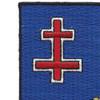 353rd Infantry Regiment Patch | Upper Left Quadrant