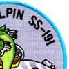 SS-191 USS Sculpin Patch | Upper Right Quadrant