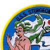 SS-187 USS Sturgeon Submarine Patch | Upper Left Quadrant