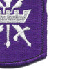 353rd Civil Affairs Brigade Patch | Lower Right Quadrant