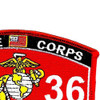 3536 Vehicle Recovery Operator MOS Patch | Upper Right Quadrant