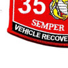 3536 Vehicle Recovery Operator MOS Patch | Lower Left Quadrant