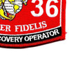 3536 Vehicle Recovery Operator MOS Patch | Lower Right Quadrant