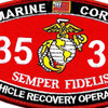 3536 Vehicle Recovery Operator MOS Patch | Center Detail