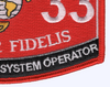 3533 Logistics Vehicle System Operator MOS Patch