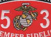 3531 Motor Vehicle Operator MOS Patch | Center Detail