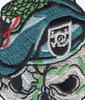 Special Forces Skull With Viper And Black Beret Patch | Center Detail