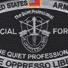 Special Forces Military Occupational Specialty MOS Patch De Oppresso Liber | Center Detail