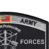 Special Forces Military Occupational Specialty MOS Patch De Oppresso Liber | Upper Right Quadrant