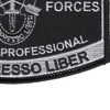 Special Forces Military Occupational Specialty MOS Patch De Oppresso Liber | Lower Right Quadrant