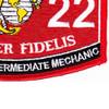 3522 Automotive Intermediate Mechanic MOS Patch   Lower Right Quadrant