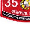 3522 Automotive Intermediate Mechanic MOS Patch | Lower Left Quadrant