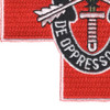 Special Forces Group Medic Red Cross Patch De Oppresso Liber | Lower Left Quadrant