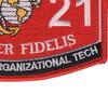 3521 Automotive Organizational Technician MOS Patch | Lower Right Quadrant