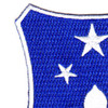 351st Infantry Regiment Patch | Upper Left Quadrant
