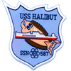 SSN-587 USS Halibut Patch