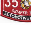 3516 Automotive Mechanic MOS Patch | Lower Left Quadrant