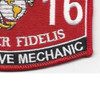 3516 Automotive Mechanic MOS Patch | Lower Right Quadrant