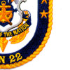 SSN-22 USS Connecticut Patch   Lower Right Quadrant