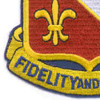 350th Infantry Regiment Patch | Lower Left Quadrant