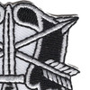 Special Forces Group Crest Patch   Upper Right Quadrant