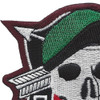 Special Forces Black Opps Patch | Upper Left Quadrant