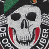 Special Forces Black Opps Patch | Center Detail