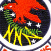 350th Air Refueling Squadron Patch Hook And Loop   Center Detail