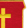 350th Airborne Field Artillery Battalion Patch | Upper Right Quadrant