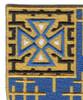 34th Infantry Regiment Patch | Upper Left Quadrant