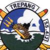 SS-412 USS Trepang Patch   Center Detail