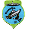 SS-397 USS Scabbard Fish Patch