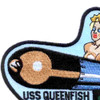 SS-393 USS Queenfish Patch - Version B   Upper Left Quadrant