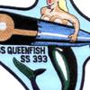 SS-393 USS Queenfish Patch - Version B   Center Detail