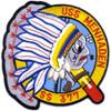 SS-377 USS Menhaden Patch - Large