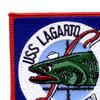 SS-371 USS Lagarto Patch - Small | Upper Left Quadrant