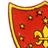 325th Airborne Field Artillery Battalion Patch | Upper Left Quadrant