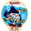 SS-331 USS Bugara Patch