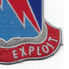 323rd Military Intelligence Battalion Patch | Lower Right Quadrant
