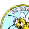 SS-284 USS Tullibee Patch - Version A | Upper Left Quadrant