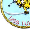 SS-284 USS Tullibee Patch - Version A | Lower Left Quadrant