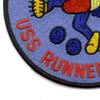 SS-275 USS Runner Patch | Lower Left Quadrant