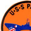 SS-264 USS Pargo Patch | Upper Left Quadrant