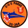 SS-264 USS Pargo Patch