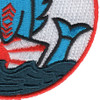 SS-245 USS Cobia Patch - Small | Lower Right Quadrant