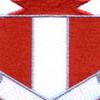 321st Combat Engineer Battalion Patch | Center Detail