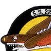 SS-229 USS Flying Fish Patch   Upper Left Quadrant