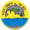 SS-417 USS Tench Patch